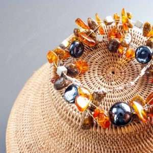 Amber Happiness Necklace