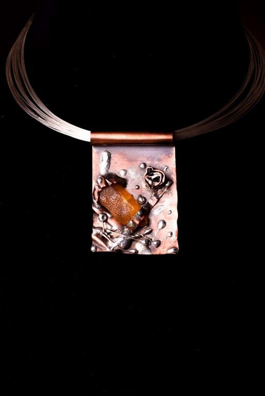 Copper Treasure Necklace