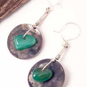 Ethnic Agate Earrings