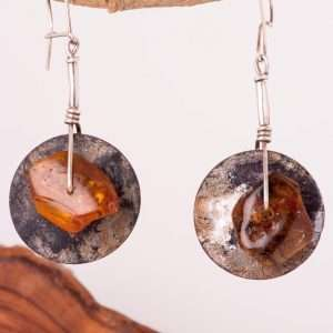 Ethnic Baltic Amber Earrings – Order Similar