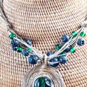 Green Land Necklace