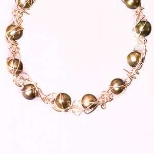 Green Pearls Bracelet