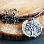 Tree Rose Garden Necklace