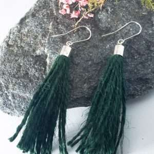 Jute String Earrings