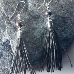 Pearl Tassel Earrings II