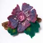 Felt Brooch Flower