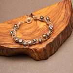 Natural Pearls Set Necklace and Bracelet
