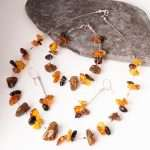 Baltic Amber Jewellery Set