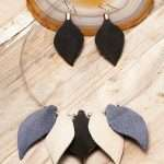 Leaves Leather Set