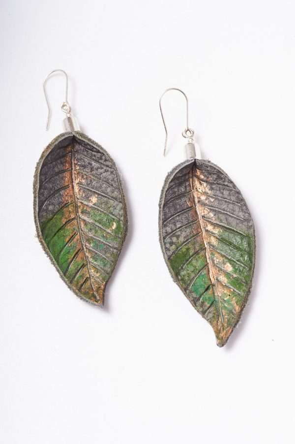 Handmade Painted Earrings designed in Ireland by Ertisun