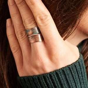 Handmade Copper Patina Ring