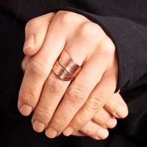 Handmade Minimalist Copper Ring